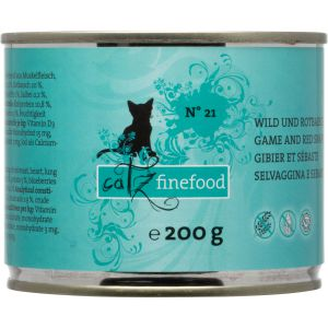 catz finefood N° 21 - Game & red snapper - 200g