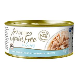 Applaws Grain Free Tuńczyk w sosie 70g