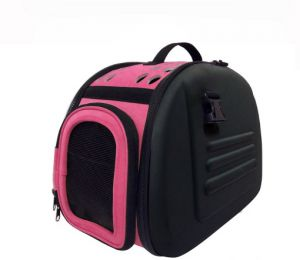 Transporter, bag - pink-black