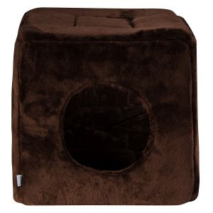 Kostka 3w1 XL - dark brown