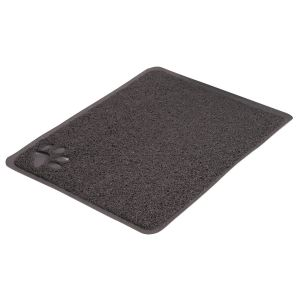 Litter Tray Mat XL PVC - graphite