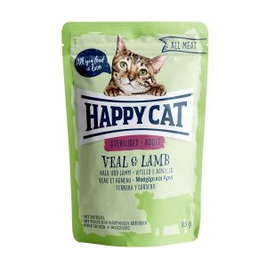 Happy Cat All Meat Sterilised Cielęcina & Jagnięcina