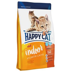 Happy Cat Indoor Adult Łosoś Atlantycki 1,4kg