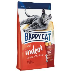 Happy Cat Indoor Adult Wołowina Alpejska 300g
