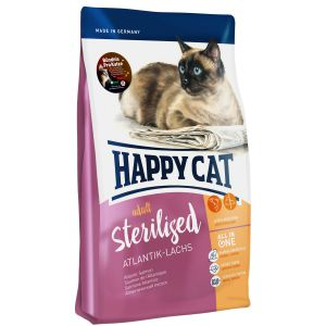 Happy Cat Sterilised Łosoś Atlantycki 10kg
