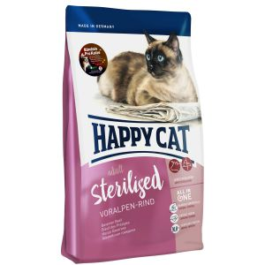 Happy Cat Sterilised Wołowina Alpejska 1,4kg