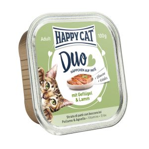 Happy Cat DUO Chicken and Lamb 100g