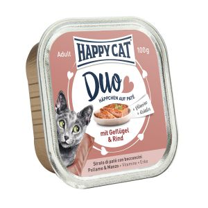 Happy Cat DUO Chicken and Beef 100g