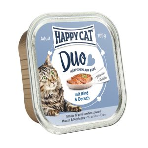 Happy Cat DUO Beef and Cod 100g