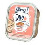 Happy Cat DUO Kurczak i Łosoś 100g