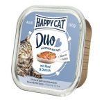 Happy Cat DUO Wołowina i Dorsz 100g