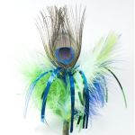 Piórko na patyku Peacock Sparkler - Made in USA
