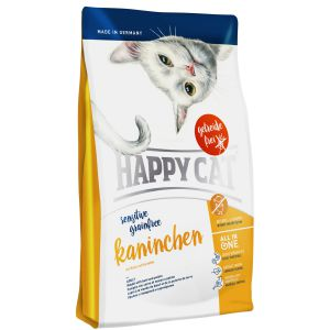 Happy Cat Sensitive bez zbóż Królik 300g