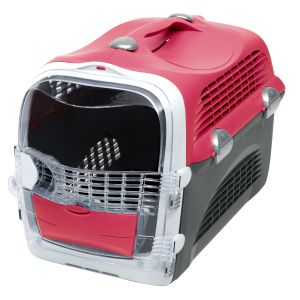 Transporter Pet Cargo Cabrio cherry red