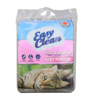 PESTELL Easy Clean Żwirek Sodowy Baby Powder 15 kg