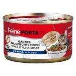 Feline Porta21 whole Tuna meat with Beef