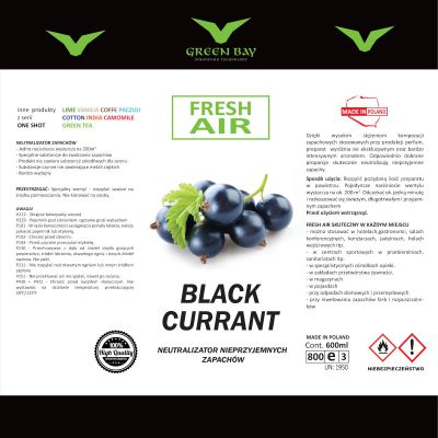Neutralizator zapachu One Shot - black currant