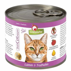 GranataPet DeliCATessen Lamb & turkey 200g