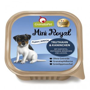 GranataPet Mini Royal Junior Indyk z królikiem 150g