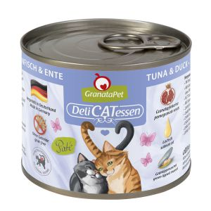 GranataPet DeliCATessen Tuna & duck 200g