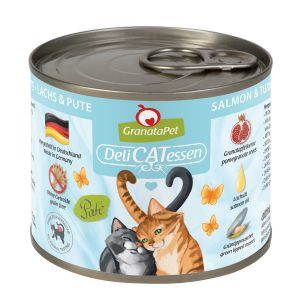 GranataPet DeliCATessen Salmon & turkey 200g