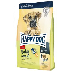 Happy Dog Baby Giant Jagnięcina z Ryżem 4kg