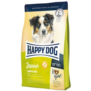 Happy Dog Junior Jagnięcina z Ryżem 10kg