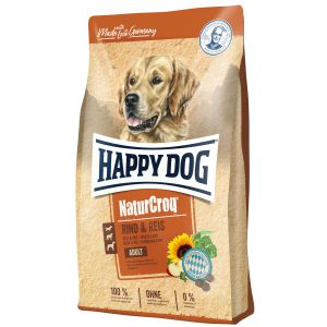Happy Dog NaturCroq Wołowina i Ryż 15kg