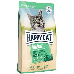 Happy Cat Minkas Perfect Mix Kurczak, Ryba & Jagnięcina 1,5 kg