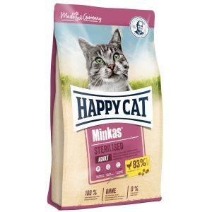 Happy Cat Minkas Sterilised Kurczak 10kg