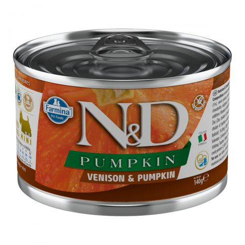 Farmina N&D Pumpkin Mini Jeleń 140g