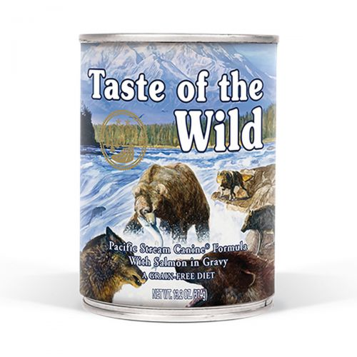 Taste of the Wild Pacific Łosoś w sosie 390g