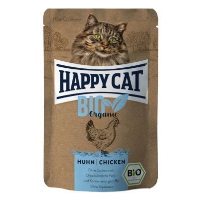 Happy Cat Bio Kurczak 85g