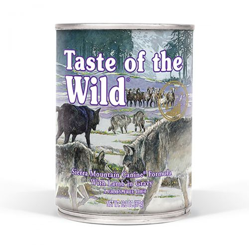 Taste of the Wild Sierra Mountain Jagnięcina w sosie 390g