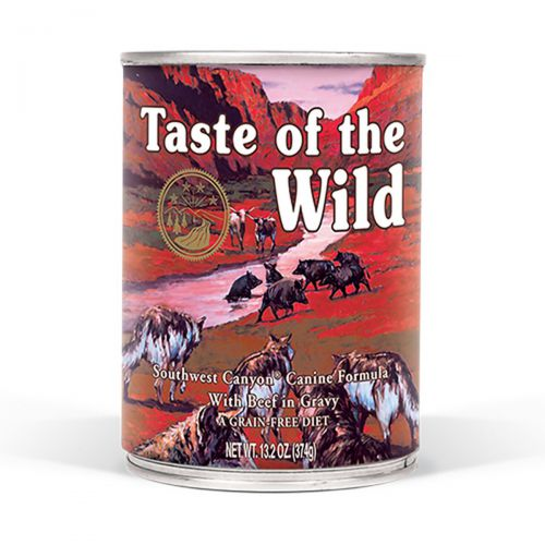 Taste of the Wild Southwest Canyon Wołowina w sosie 390g