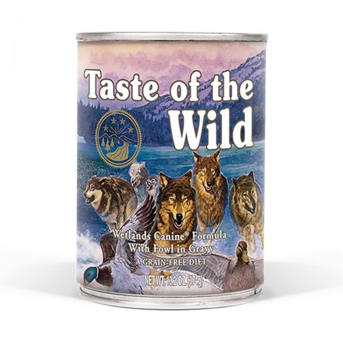 Taste of the Wild Wetlands Canine Drób w sosie 390g